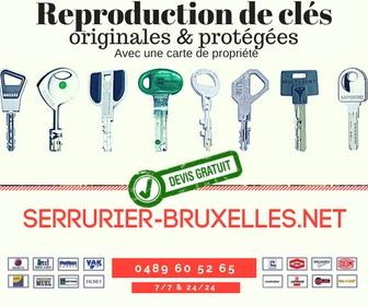 serrurier-bruxelles.net | reproduction de clés | 0489 60 52 65