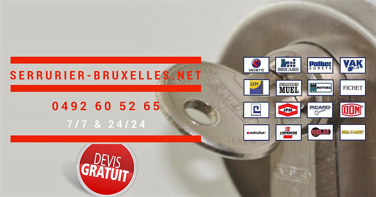 serrurier-bruxelles.net | 0489 60 52 65 | Intervention en 30 minutes 24/7